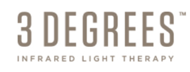 3 Degrees Infrared Light Therapy logo
