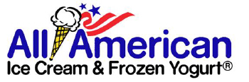 All American Ice Cream & Frozen Yogurt logo